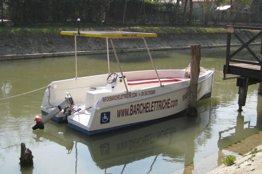 Prova Gratuita barche elettriche solari sulla Riviera del Brenta –  Michelangelo Travel